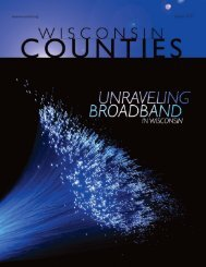 Unraveling Broadband in Wisconsin - Center for Community ...