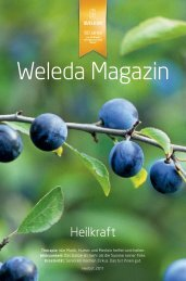 Weleda Magazin, Herbst 2011 PDF-Download