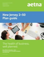 New Jersey 2–50 Plan guide - PGP Benefits