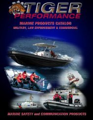 MARINE PRODUCTS CATALOG - Tiger Performance Products
