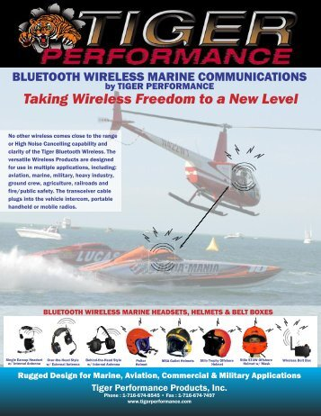 Taking Wireless Freedom to a New Level - Tiger Performance ...