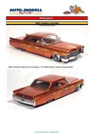 Bildergalerie 1963 Cadillac Lowrider - Auto-Modell-Report
