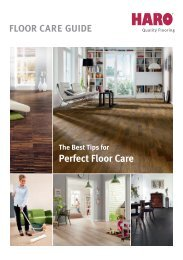 Perfect Floor Care - Der Onlinekatalog