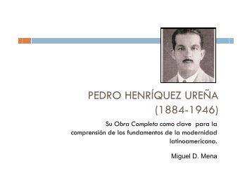 Hacia la Obra Completa de Pedro Henríquez Ureña - Cielo Naranja