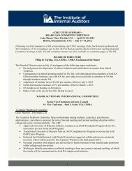 --EXECUTIVE SUMMARY-- BOARD AND COMMITTEE MEETINGS ...