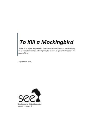 How does Scout develop as a character in To Kill a Mockingbird?