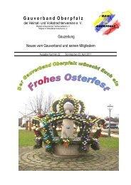 G a u v e r b a n d O b e r p f a l z - Gau-Oberpfalz