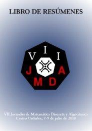 6Mb - VII Jornadas de Matemática Discreta y Algorítmica