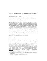 Graph Operations and Laplacian Eigenpolytopes