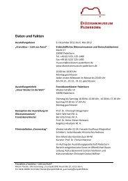 Daten und Fakten - Diözesanmuseum Paderborn