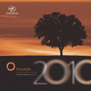 Brochura de Sustentabilidade 2010 - Amorim