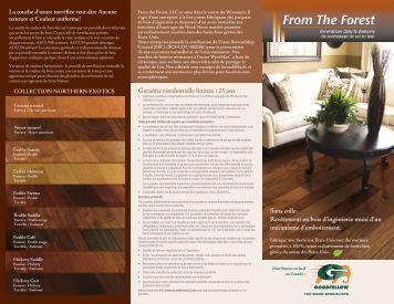 Brochure - Goodfellow Inc.