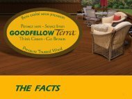 THE FACTS - Goodfellow Inc.