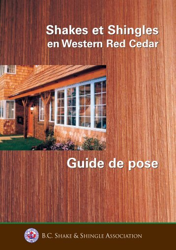 Guide de pose Guide de pose - Goodfellow Inc.