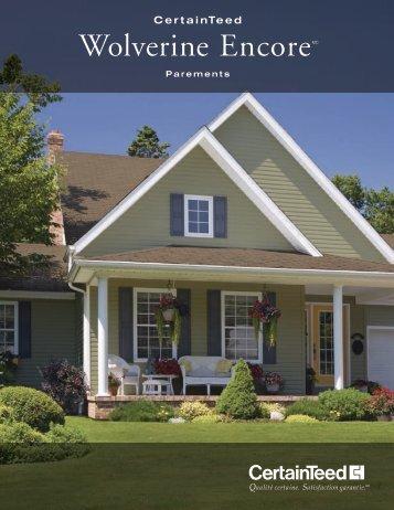 Brochure Encore - Goodfellow Inc.