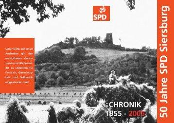 CHRONIK 1955 - SPD Siersburg