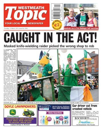 Westmeath Topic- 19 March 2015