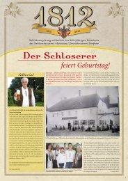 21. Juli 2012 auf dem Brauereigelände - Schlossbrauerei Hirschau