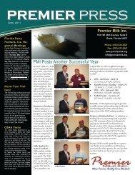 April - Premier Milk Inc.