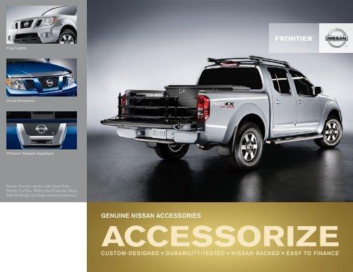 Nissan Frontier | Accessories Brochure | Nissan USA