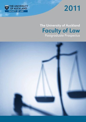Faculty of Law - The University of Auckland