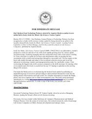Press Release - Technology Partners