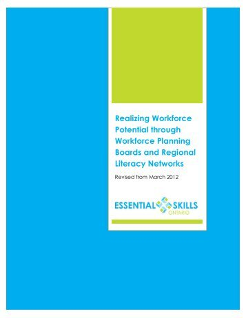 Realizing Workforce Potential through Workforce Planning Boards ...