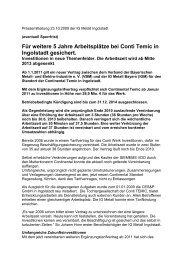 PM_Conti__Ingolstadt_23_10_09. - Schaeffler-Nachrichten der IG ...