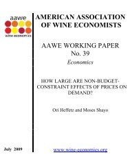 AAWE Working Paper No. 39 – Economics - American Association ...