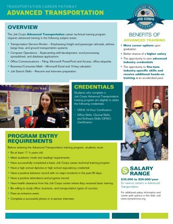 career training program