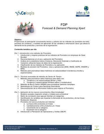 Forecast & Demand Planning Xpert - Celogis