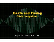 Beats and Tuning - Astro Pas Rochester