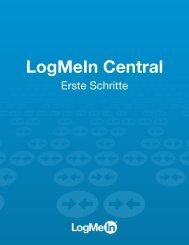 Erste Schritte - LogMeIn