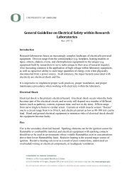 General Guideline on Electrical Safety within Research Laboratories