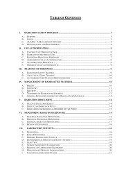 Radiation Safety Manual, Section IX, Radioactive Waste Disposal