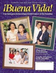 Estudio del cáncer en las familias