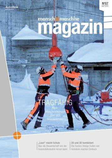magazin - Mensch und Maschine