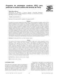 Programa de estrategias creativas - Latin-American Journal of ...