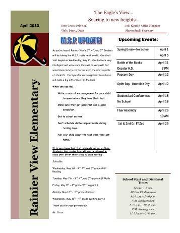 Rainier View Elementary - Federal Way Public Schools