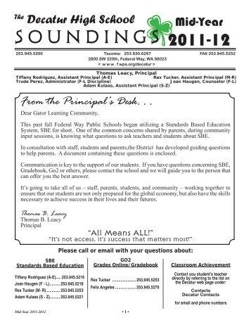 2012 Jan_NEWS.indd - School Web Sites - Federal Way Public ...
