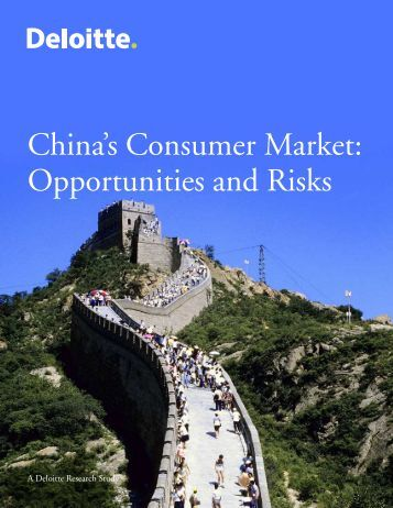Opportunities and risks of fdi in china