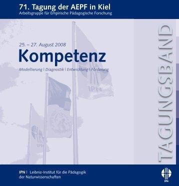Kompetenz - IPN - Christian-Albrechts-Universität zu Kiel