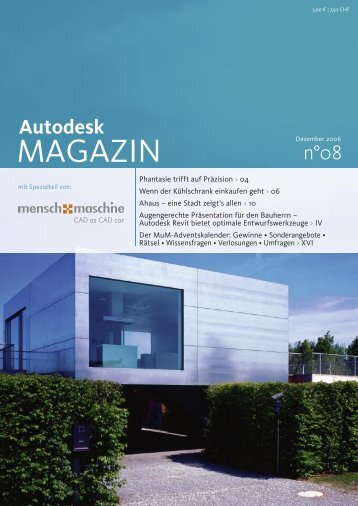 Autodesk - Mensch und Maschine