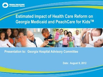GA ACA Medicaid CHIP Analysis Aug 9 2012 FINAL v2.pdf - Advocacy