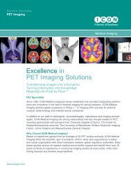 Excellence in PET Imaging Solutions may 16:Layout 1.qxd - ICON plc