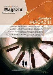 Autodesk Magazin/Mum 01/02 - Mensch und Maschine
