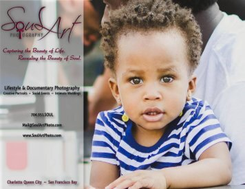 Soul Art Photography Creative Services Brochure