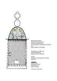 1 Einleitender Teil 3 - von Metallbau und Gestaltung Norbert Finke