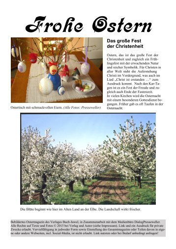 Frohe Ostern - Das Frohe-Ostern-Magazin