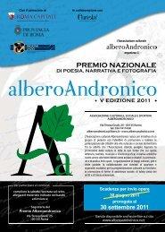 Premio Alberoandronico - Concorsi Letterari